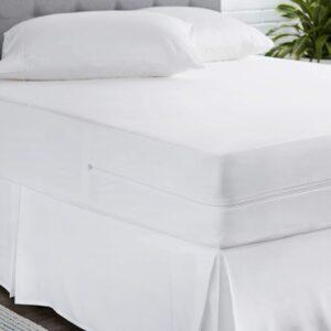 AmazonBasics Fully-Encased Waterproof bed sheet that wraps around mattress