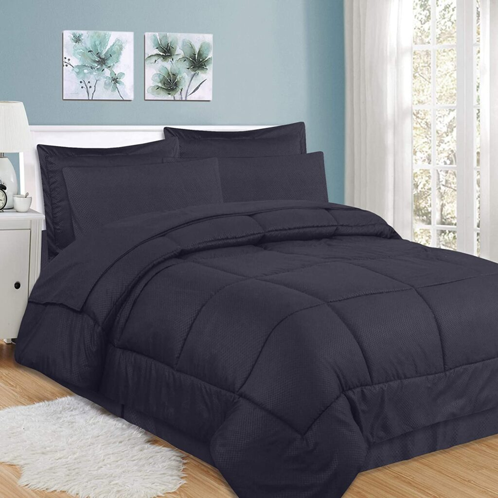Sweet Home Collection bed sheet that wraps around mattress