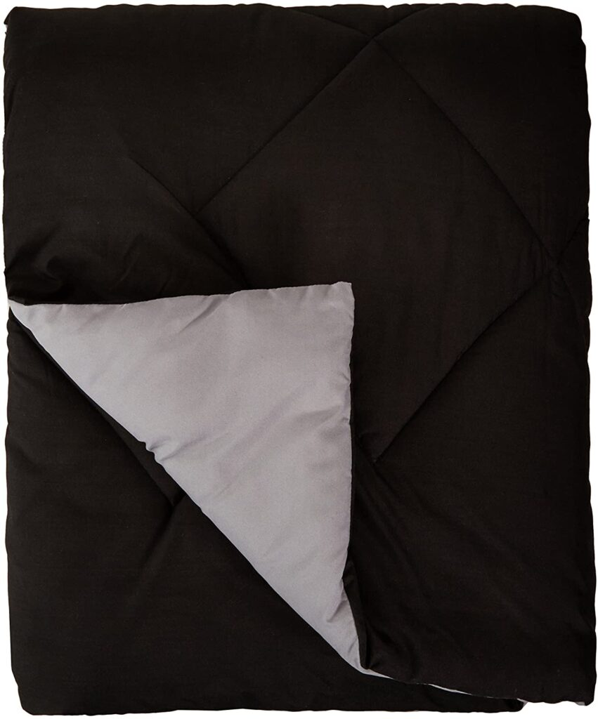 AmazonBasics Reversible Microfiber Comforter Blanket